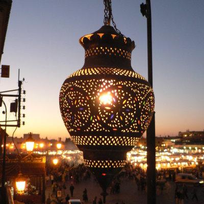 Voorvertoning Afscheid van het Djemaa el Fna plein
