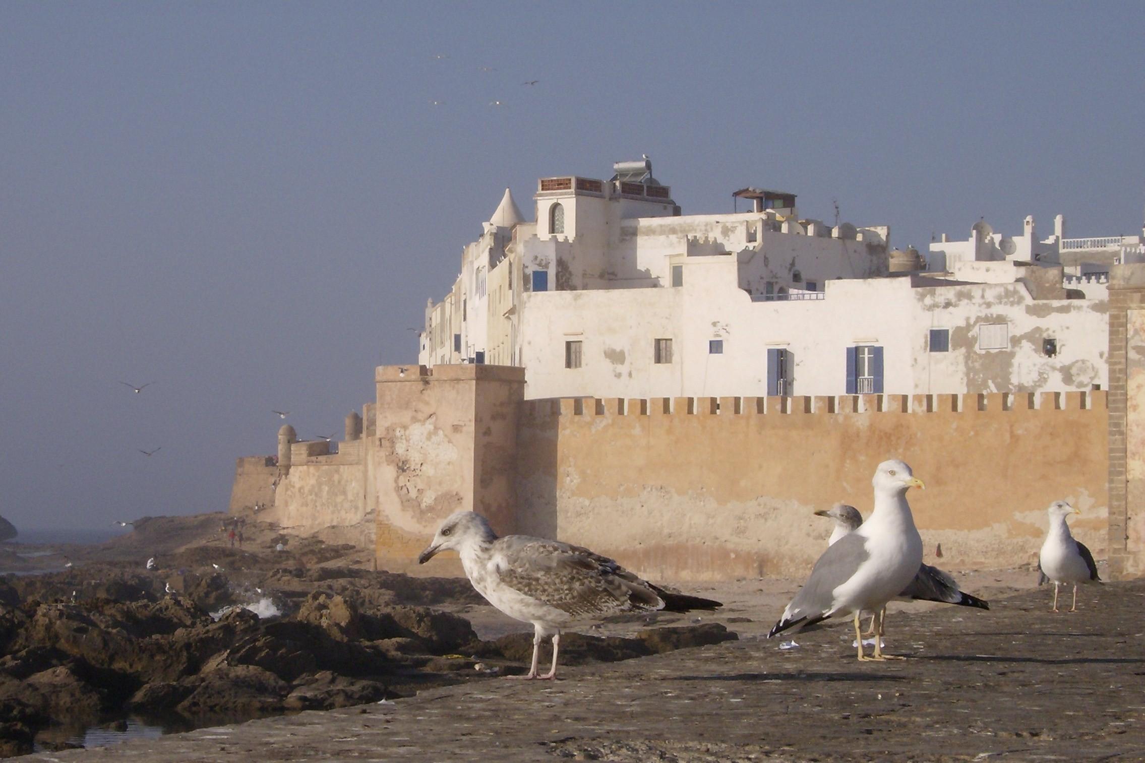 blik op Essaouira
