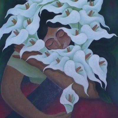 Voorvertoning Prachtig schilderij. Helaas nog niet de schilder en de titel op internet kunnen vinden.
