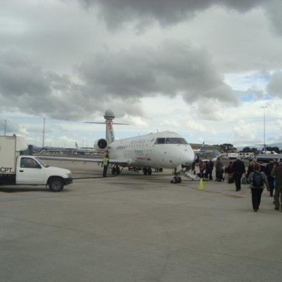 Voorvertoning ons vliegtuig