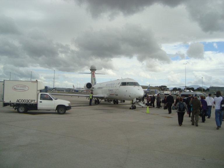 ons vliegtuig