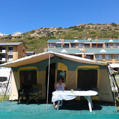 Voorvertoning Ons verblijf op Point Caravan Park in Mosselbaai.