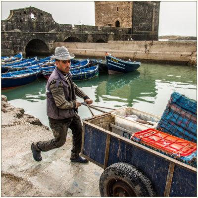 Voorvertoning Visverwerking en handel in Essaouira