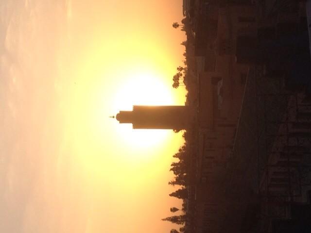 Zonsondergang in Marrakech