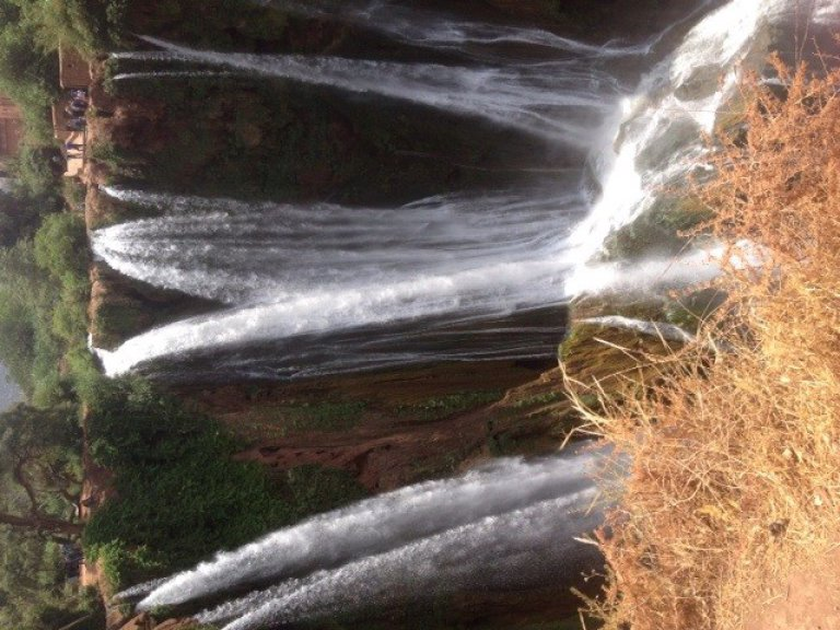 Ouzoud waterval