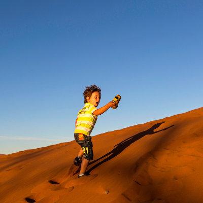Voorvertoning Lekker over de duinen rennen bij de Sossusvlei