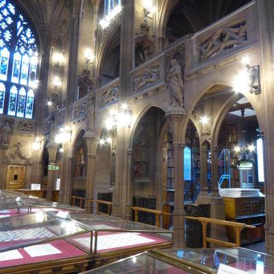 Voorvertoning John Rylands Library