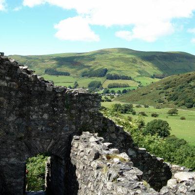 Voorvertoning Castell Y Bere en de Dysynni vallei.