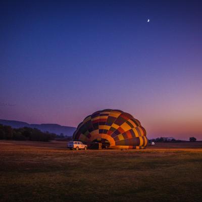 Voorvertoning Safari vanuit de lucht in Zuid-Afrika