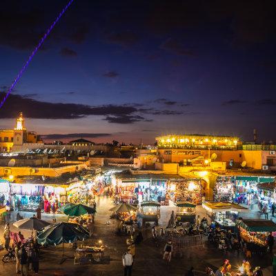 Voorvertoning Marrakesh een wereldstad van formaat.