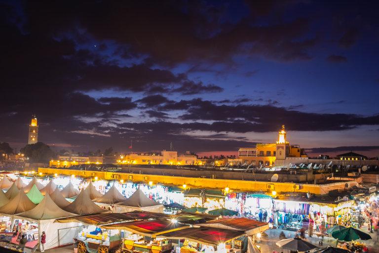 Marrakesh een wereldstad van formaat.