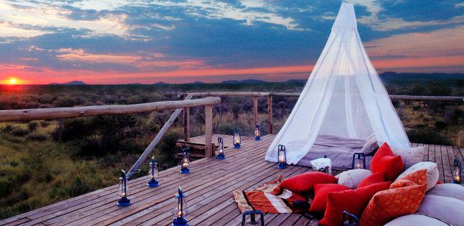 Slapen tussen de wilde dieren: 5 wildlifehotels
