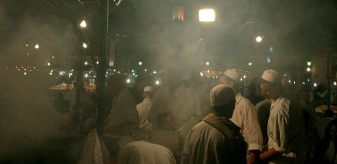 Marokko - Marrakech ruiken en voelen