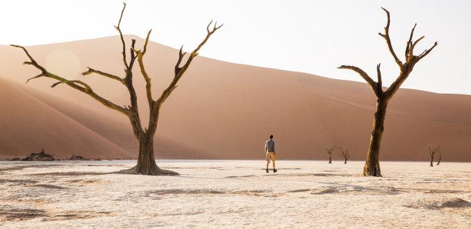 Namibië: wachten op water