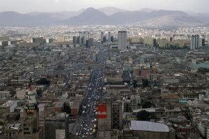 Uitzicht vanaf de Torre Latinoamericana