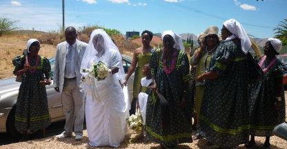 Namibische Bruiloft