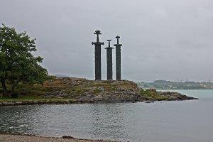 Zwaard in steen in Stavanger