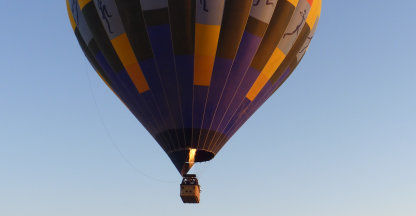 Ballonvaart over Sossusvlei