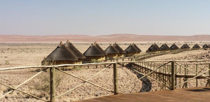 Sossus Dune Lodge, 3x luxe