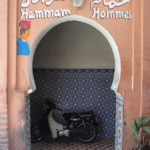 Naar de hammam in Marrakech.