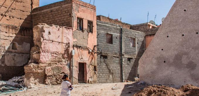 Marrakech aan de rand van ....