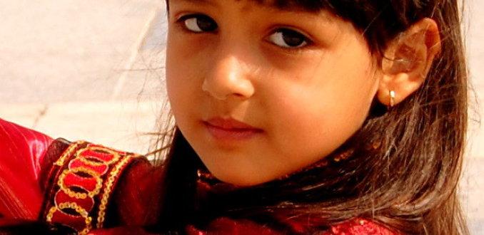 Marokkaans meisje.