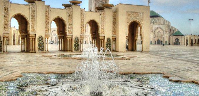 Hassas II Moskee Casablanca