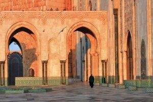Outside Hassan II