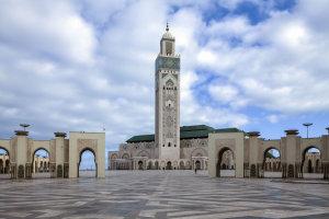 De Hassan II moskee Casablanca