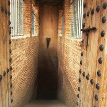 Trappen naar de ondergrondse gevangenis