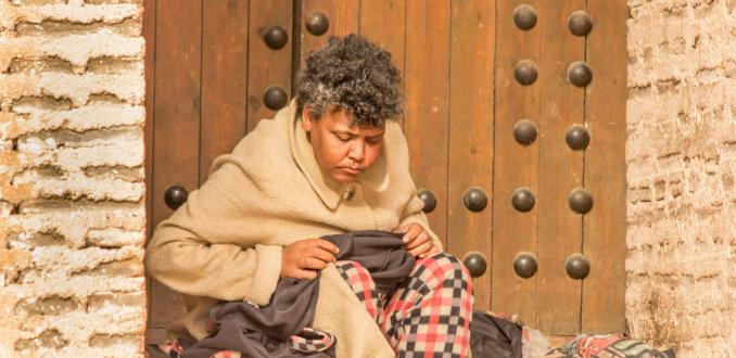 Armoede in Meknes