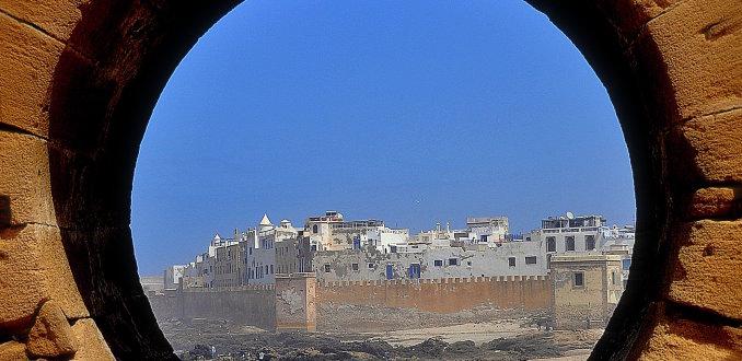 Stadsmuur Essaouira !