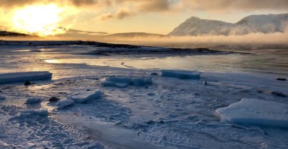 Noord-Noorwegen in de winterkou