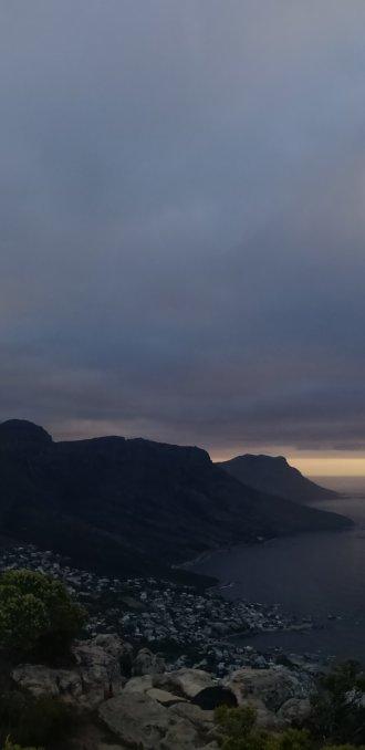 Panorama vanaf Lionshead