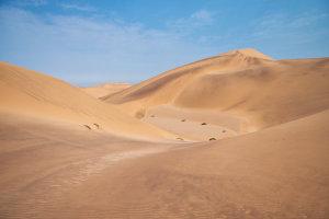 De duinen van Swakopmund