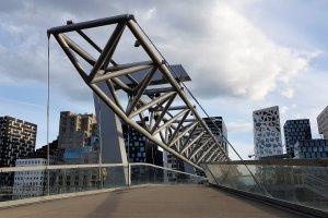 Akrobatenbrug voetgangersbrug