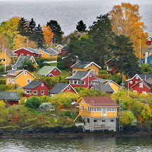 Indian Summer in Noorwegen