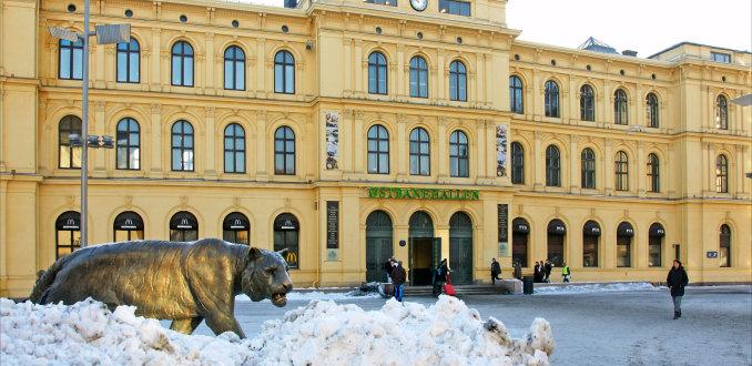 Vervoer in tijgerstad Oslo