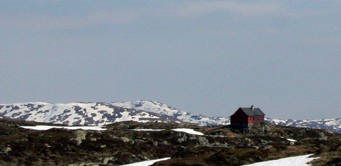 Van Ulriken naar Fløyen