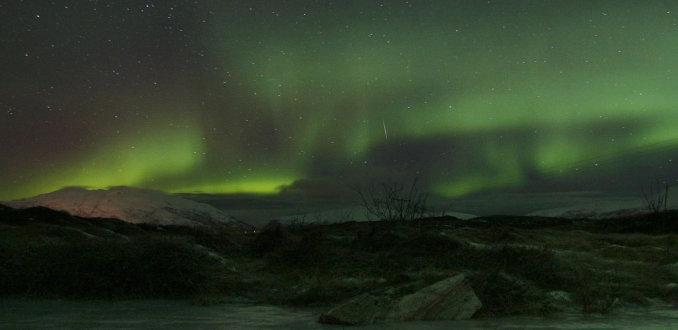 Noorderlicht bij Tromso