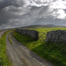 Route in the Yorkshire dales