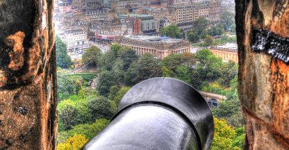 zicht op Edinburgh