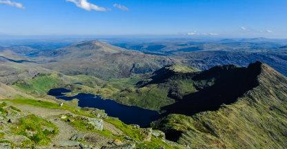 Mount Snowdon in Wales