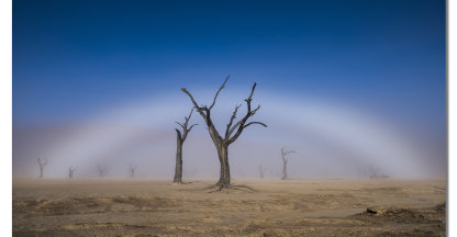 White Rainbow at Deadvlei