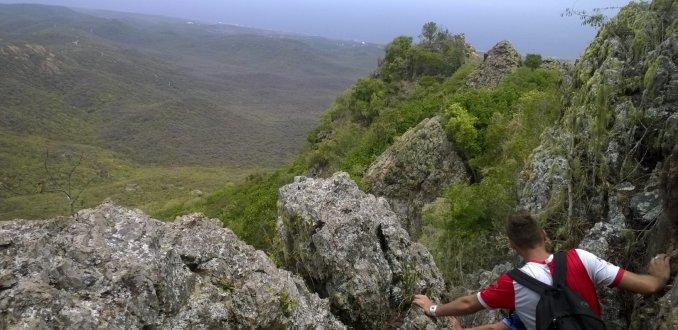 Beklimmen van de Christoffelberg