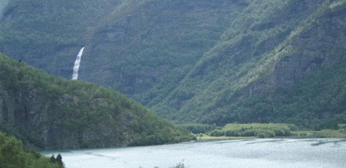 Het natuurschoon van de Geirangerfjord, Noorwegen