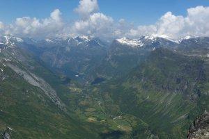 Panorama Geirangerfjord