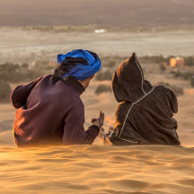 time out, Erg Chebbi