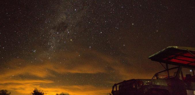 Stargazing bij Kagga kamma