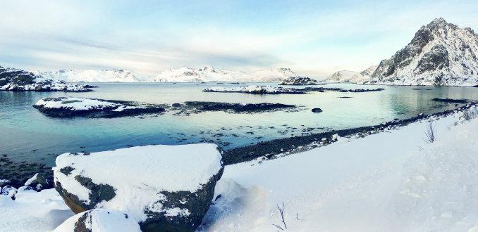 Lofoten landschap